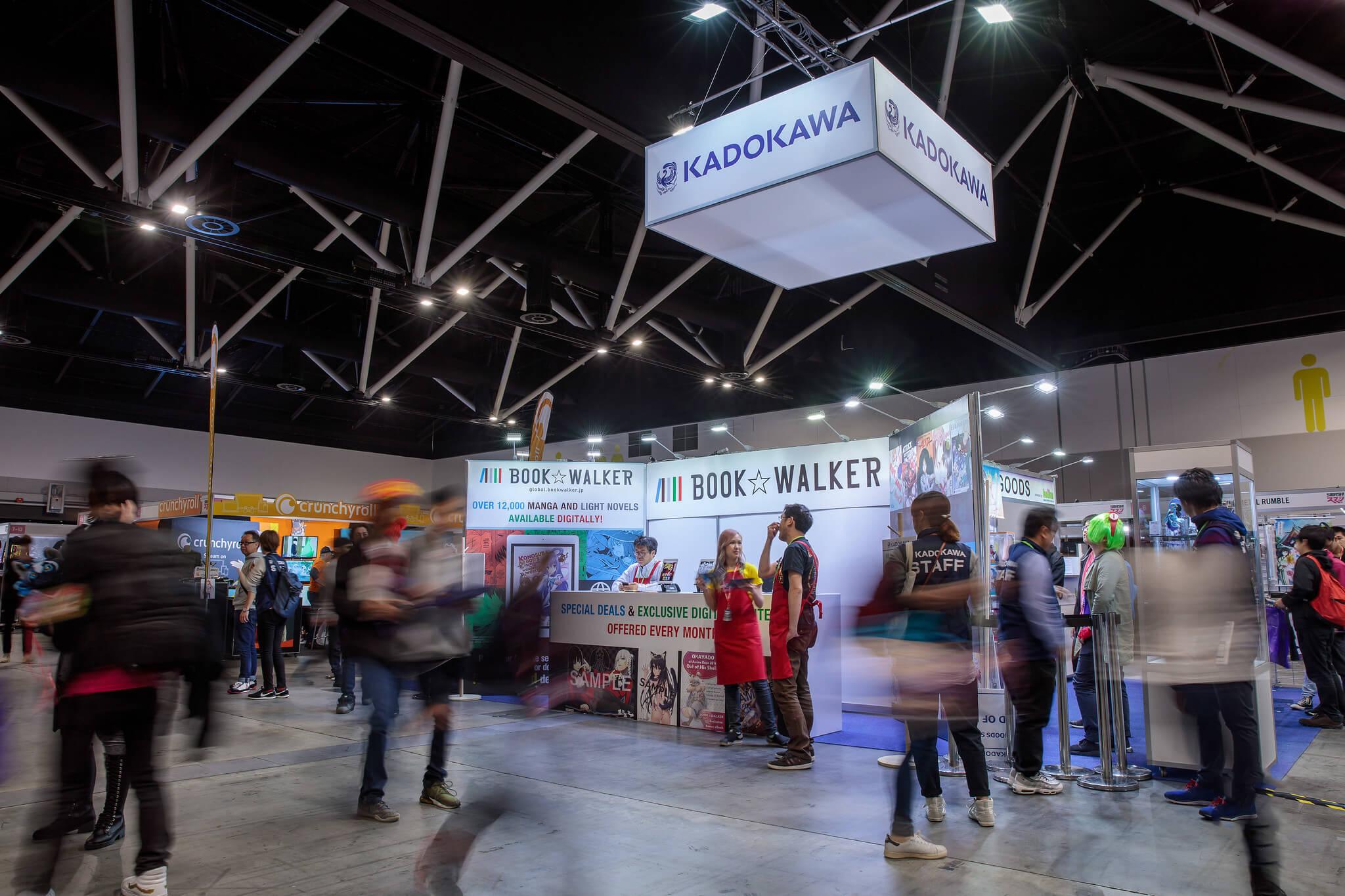 Kadokawa Sponsor Booth 2019